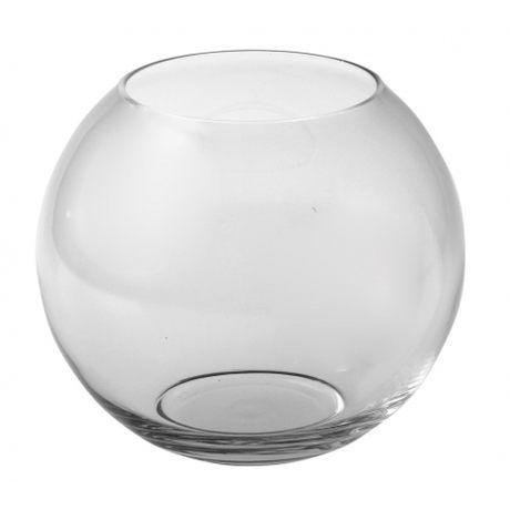 Wazon szklany KULA 17 cm