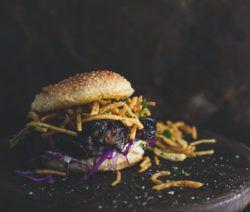 Asian Short Rib Burgers