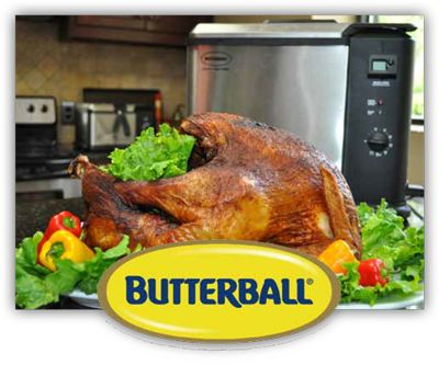 Butterball Indoor Turkey Fryer XL Electric Turkey Fryer