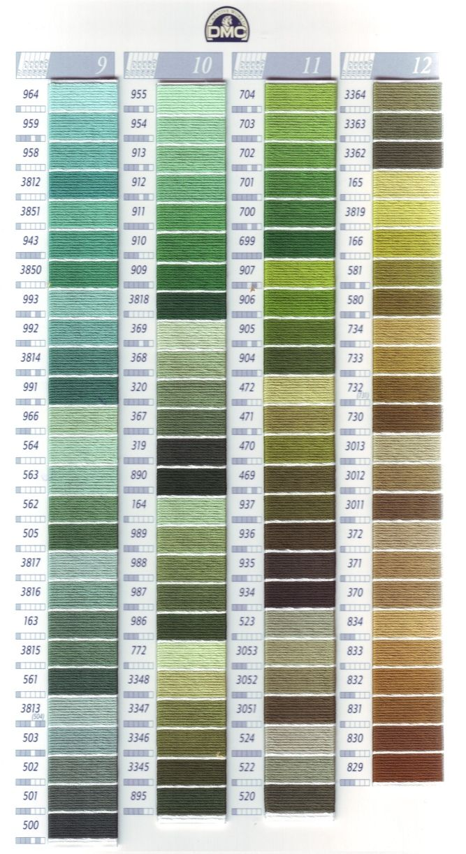 7 best DMC FLOSS COLOR CHART AND NUMBERS CHART #2 images on ...