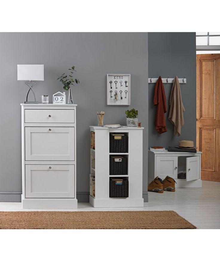 dover shoe storage cabinet white 1