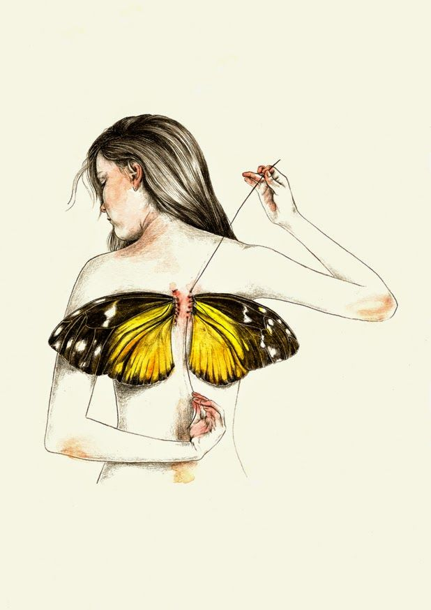Illustration by Lucy Salgado | http://ineedaguide.blogspot.com/2015/03/lucy-salgado.html | #illustrations #drawings
