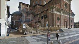 Progetto 2°classificato al concorso per la riqualificazione dei resti della Torre di Pavia.