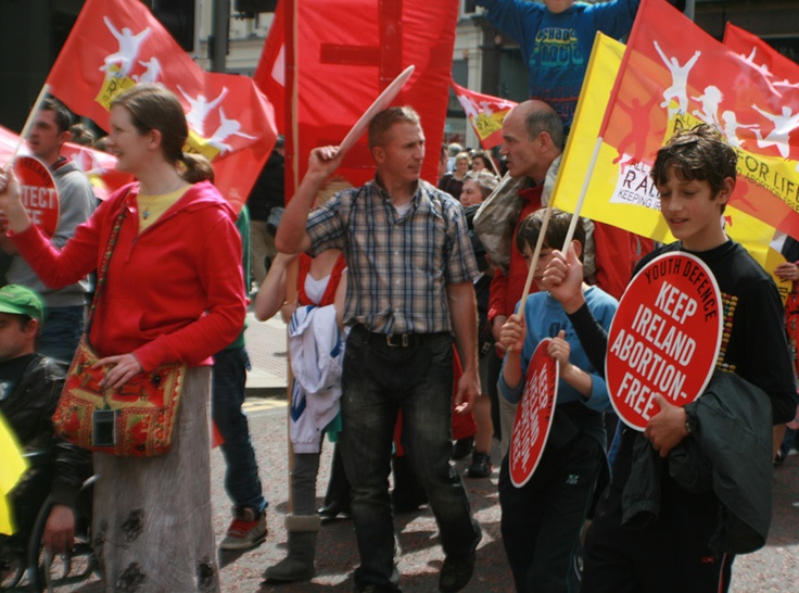 The 7th All Ireland Rally for Life took place in Belfast on 7 July 2012
