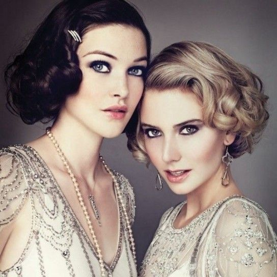 Beauty look da Flappers moderne