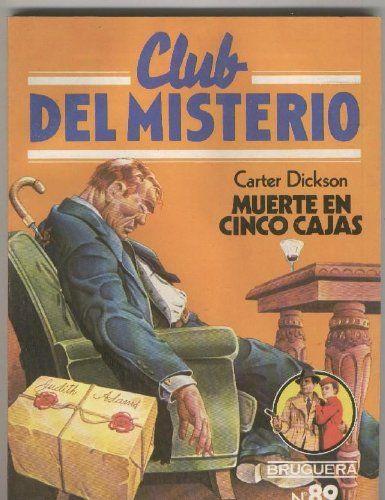 Coleccion de libros policiacos,Club del Misterio editorial Bruguera España años 80s.