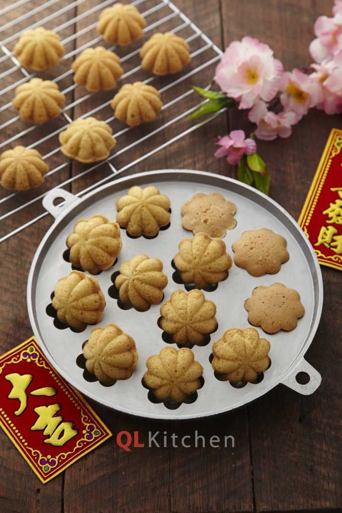 Crispy Kuih Bahulu Recipe