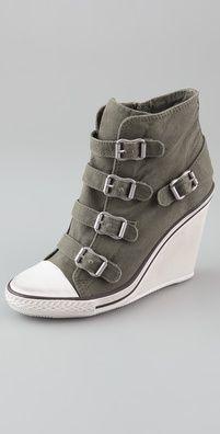 Zapatos deportivos tacón de goma