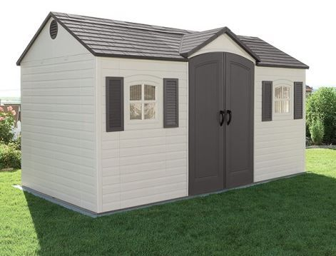 Garden Storage Sheds - Plastic. Lifetime 8 x 15 ft Shed. Read the full review: