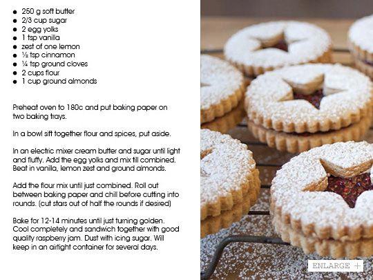 December 2012 - Raspberry Linzer Cookies | Vudu Cafe Queenstown
