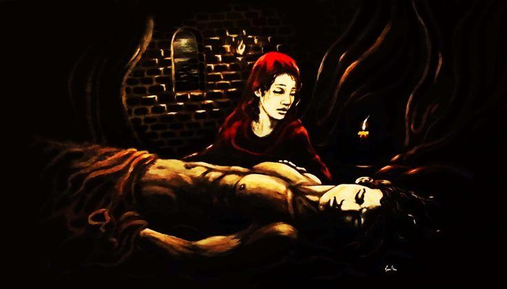 """Art from Gillian O'roark's book world """"The Reluctant Prophet"""""""