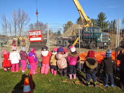 "This was one of the most exciting days in PK, as the expansion of our school began.  We were thrilled to watch the digging begin and friends shared, ""Our new school is almost built."""