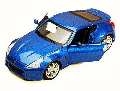 2009 Nissan 370Z, Blue   Maisto 34200   1/24 Scale Diecast Model Toy Car (Brand New, but NO BOX). #Nissan #Blue #Maisto #Scale #Diecast #Model #(Brand #New, #BOX)