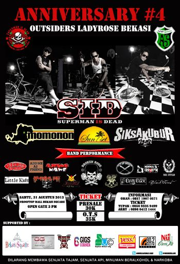 #Event Anniversary#4 OUTSIDERS