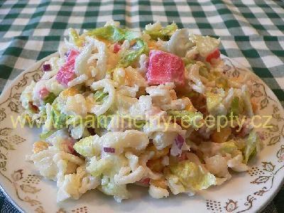 45 Surimi salát
