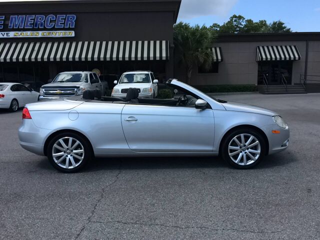 used 2009 volkswagen eos komfort 2 0t convertible in pensacola eddie mercer automotive. Black Bedroom Furniture Sets. Home Design Ideas