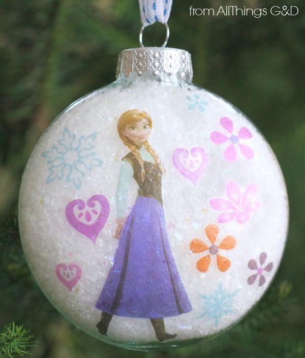 How to make a Princess Anna Ornament