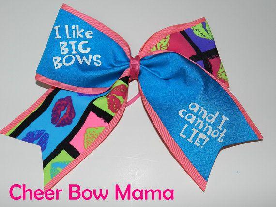 I like Big Bows... Cheer Bow by Cheer Bow Mama