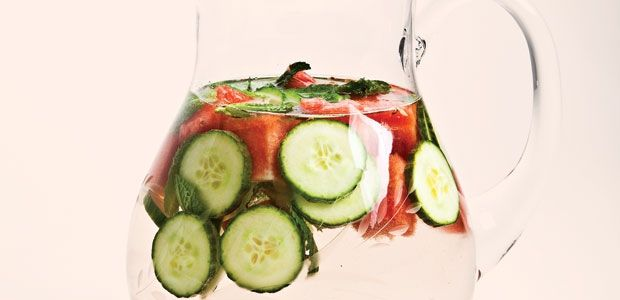 Minty Watermelon and Cucumber Refresher | alive #357, July 2012
