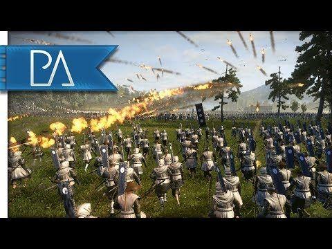 Brutal Samurai Charge Through a Storm of Arrows! - Total War