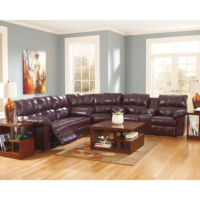 Slipcovers For Sofas Kennard Burgundy Sectional Set Reclining SectionalFurniture Makeover Burgundy