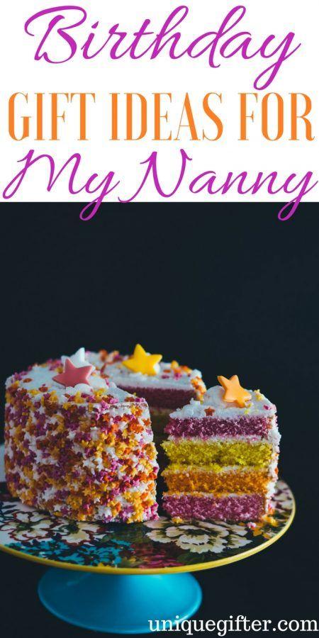 Birthday Gift Ideas For My Nanny