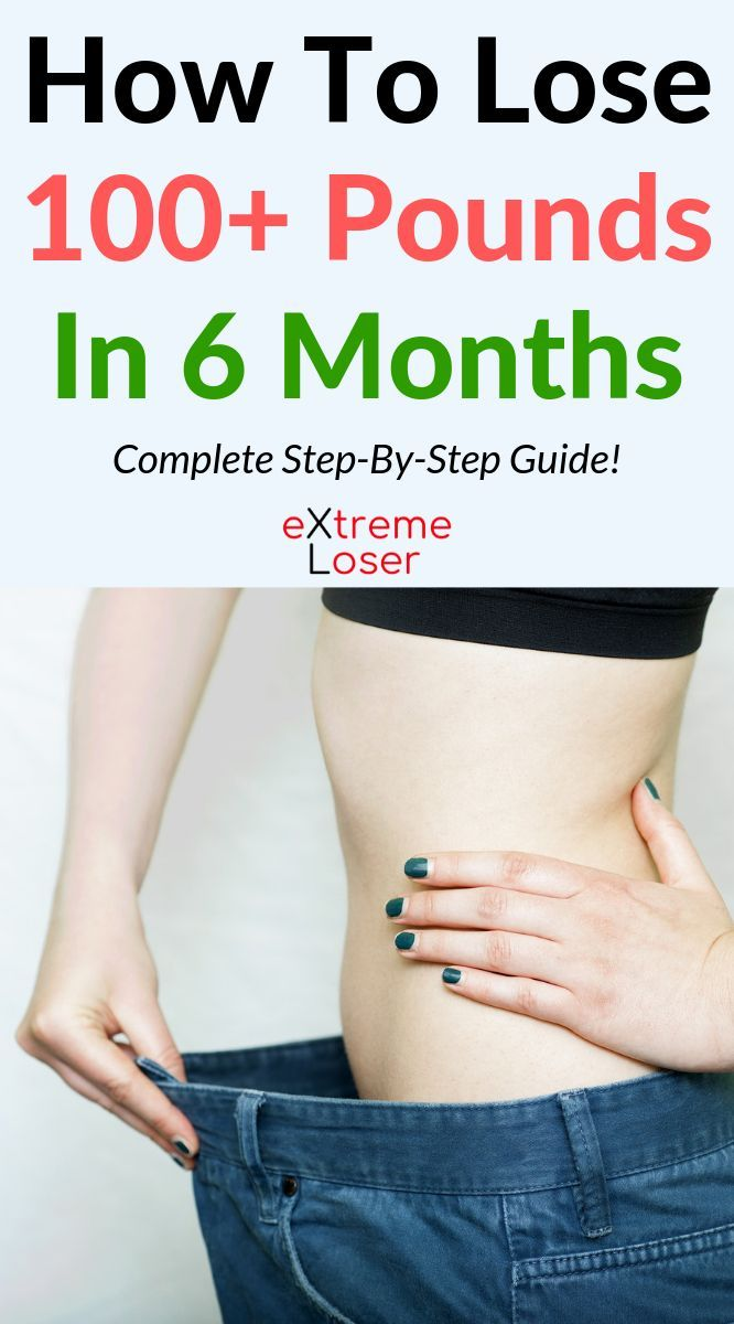 How To Lose 100 Pounds In 6 Months Complete Guide Fitness