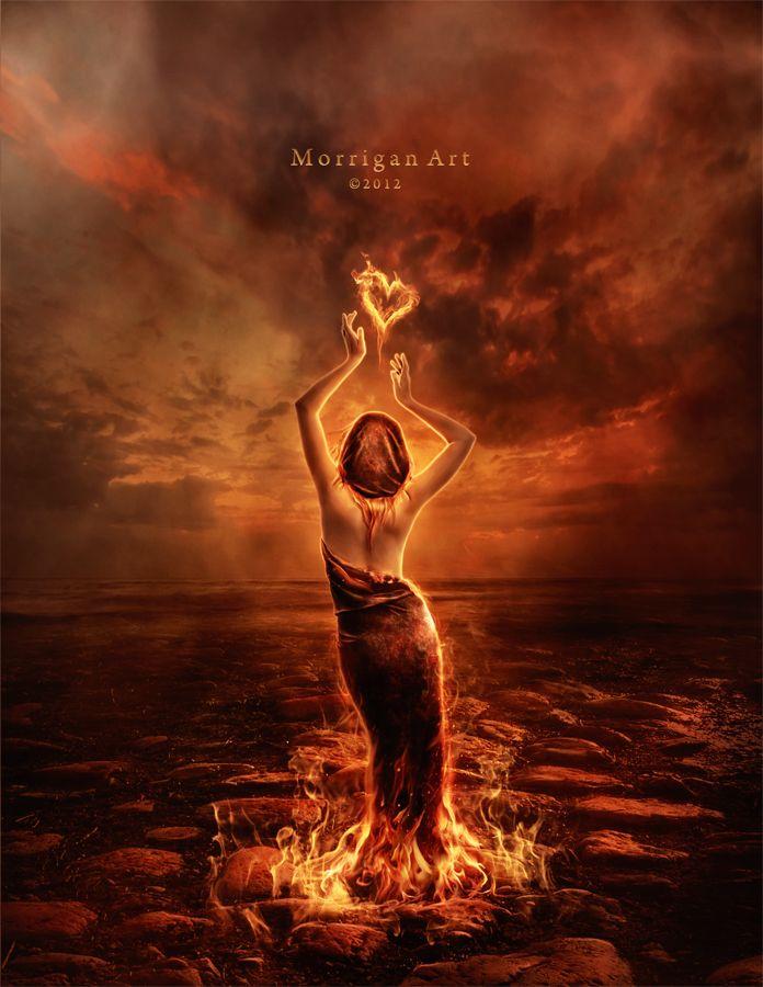 Eternal Fire by MorriganArt on deviantART