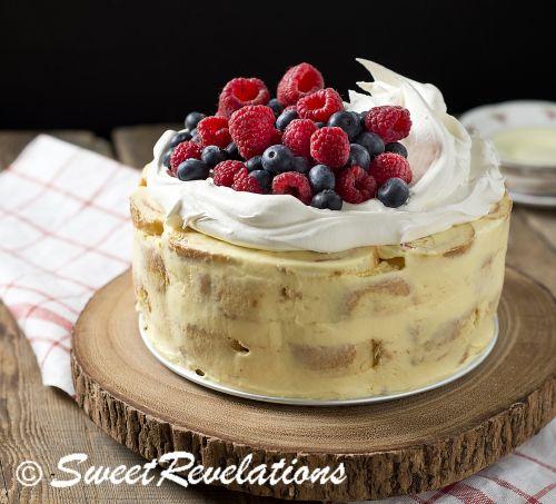 Swiss Roll Cake via SweetRevelations