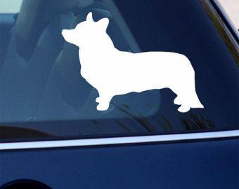 Corgi Decal - Dog Vinyl Sticker - For Car, Window, Laptop, Wall