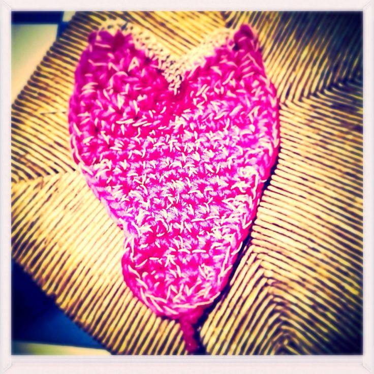 Cerca il tuo cuore... A volte e distrattamente lasciato su una seggiola vecchia :-)