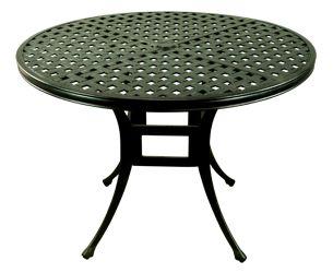 Fantastic outdoor furniture, tables made in cast aluminium, Melbourne