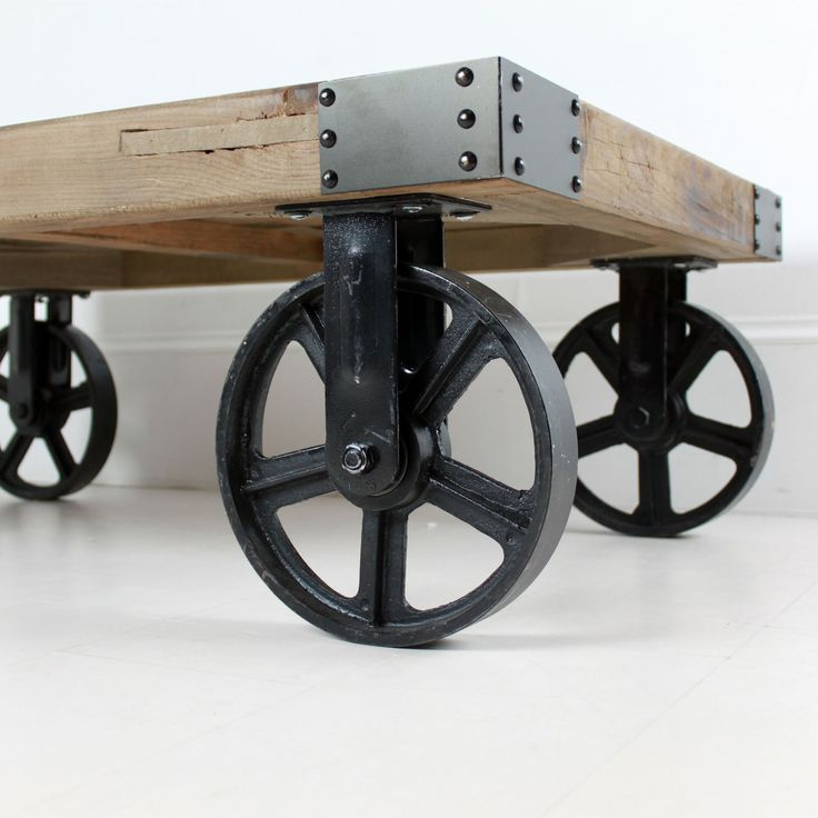Industrial Coffee Table on Wheels - Best 20+ Industrial Coffee Tables Ideas On Pinterest Coffee