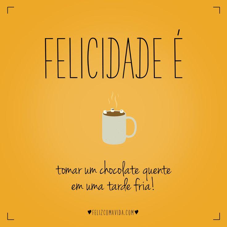 Hmmm :P | felicidade, chocolate, quente, caneca, happiness, hot , mug|