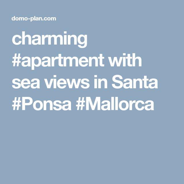 charming #apartment with sea views in Santa #Ponsa #Mallorca