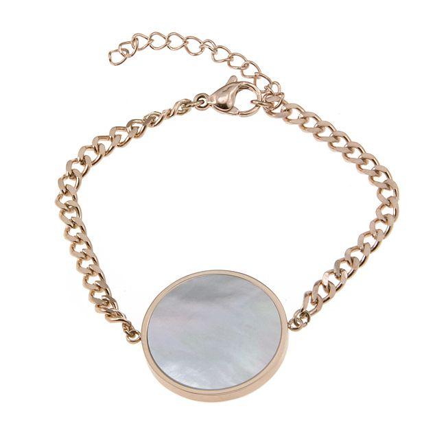 Ingnell Jewellery - Milla bracelet rose. Stainless steel. ingnelljewellery.com