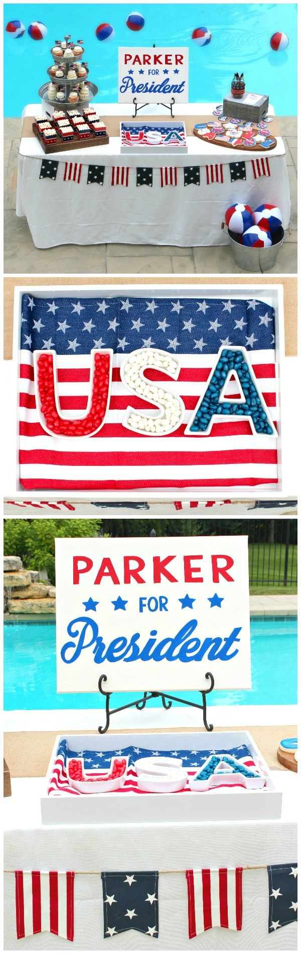 Presidential Election First Birthday Party // Parker for President!