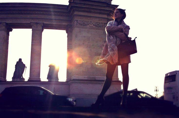 Big city life, photoshoot #photography #photoshoot #canon #city #girl #Budapest