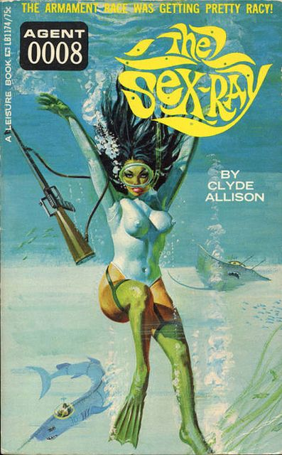 hoodoothatvoodoo: Agent 008 Book Cover 'The Sex Ray'
