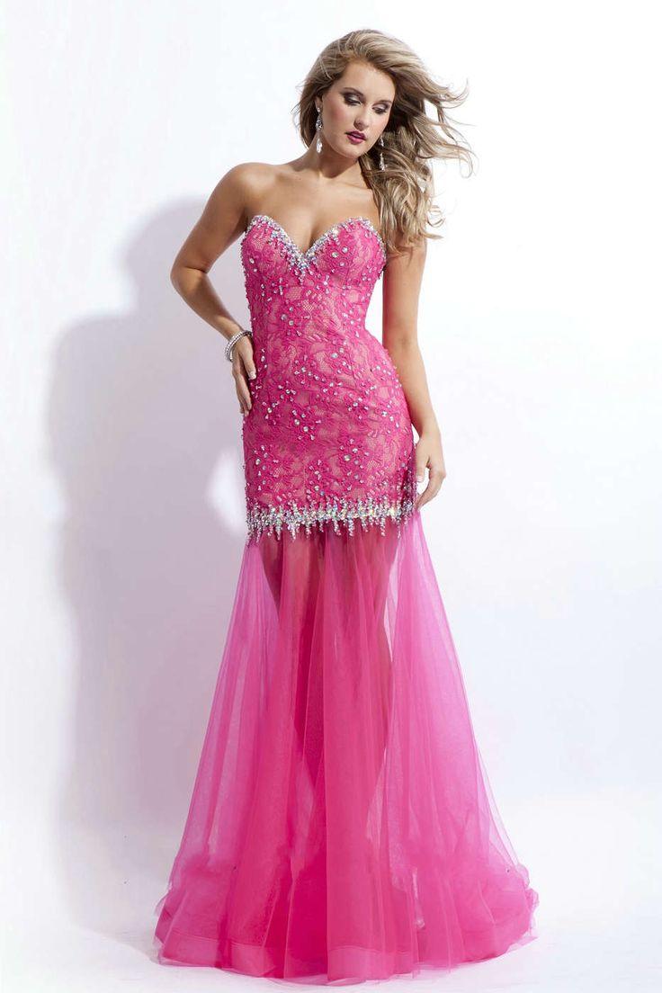 29 best Vestido de Madrinha Rosa images on Pinterest | Evening gowns ...