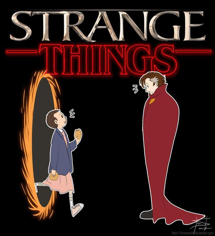 When stranger things meets doctor strange!