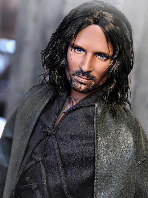 Custom Made Aragorn Wig 79