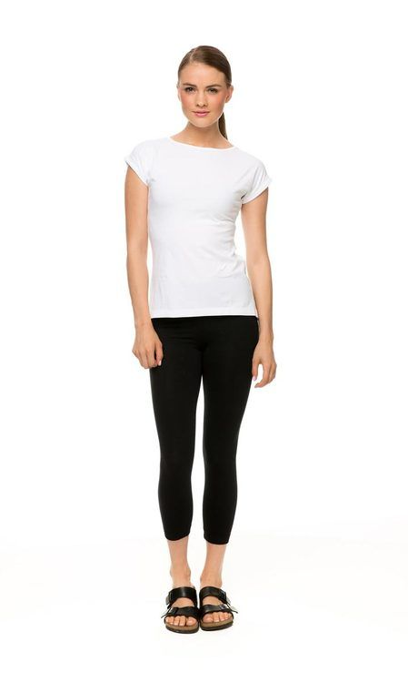 Knit Legging, available in Black or Chocolate. $19.95