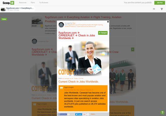 flygcforum.com ✈ CAREERJET ✈ Check in Jobs ✈  http://shrs.it/19g9e