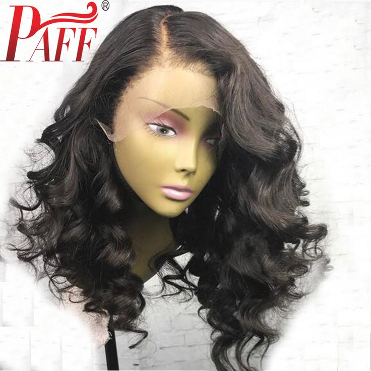 Aliexpress.com : Buy PAFF Short body wave lace front human hair wig glueless 180% density Peruvian remy hair wig with baby hair bleached knots  from Reliable Human Hair Lace Wigs suppliers on PAFF Official Store