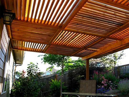 1000 Images About Deck Roofs Coverings On Pinterest