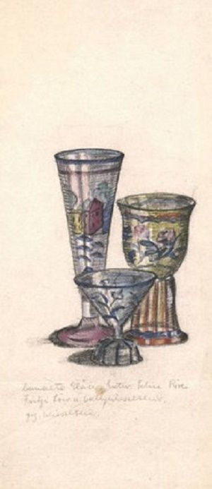 Entwurf: Felice Rix, Entwurf: Fritzi Löw, Entwurf: Vally Wieselthier, Ausführung: Anonym, Wien, 1901 bis 1910