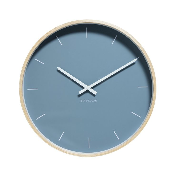 Henry Clock Steel Blue