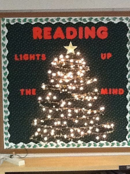 This is so cool! Well, at least now I dont have to plan a Christmas bulletin board.