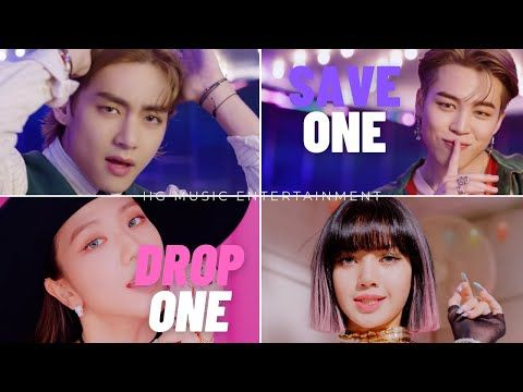 Bts Vs Blackpink Save One Drop One Very Hard 2020 Youtube In 2020 Blackpink Kpop Bts